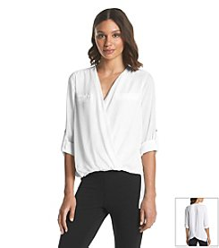 XOXO® Drape Top