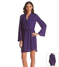 XOXO® Surplice Dress