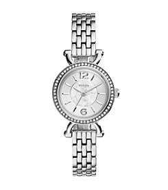 Fossil® Women's Georgia Cordele Watch in Silvertone