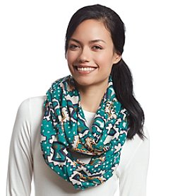 Basha Abstract Dots Eternity Scarf
