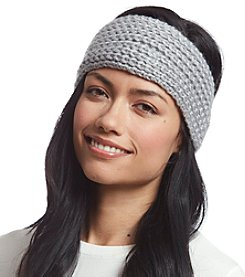 Calvin Klein Lurex Metallic Headband