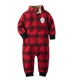 Carter's® Baby Boys Newborn-24M Mock-Neck Microfleece Jumpsuit