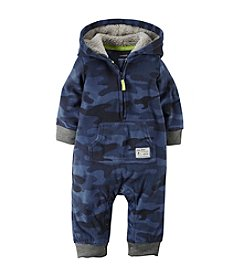 Carter's® Baby Boys Newborn-24M Dog Sled Champion Camo Coverall