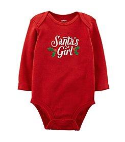 Carter's® Baby Girls' Newborn-24M Santa's Girl Bodysuit