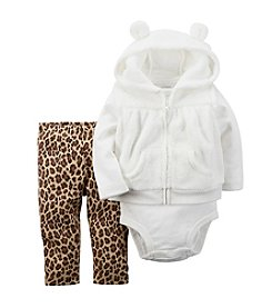 Carter's® Baby Girls' 3-24M Animal Print Leggings Set