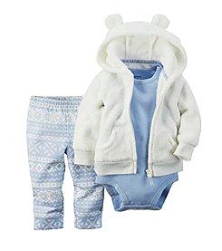 Carter's® Baby Girls' 3-24M Light Fair Isle Print Leggings Set