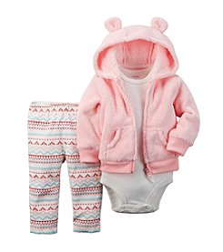 Carter's® Baby Girls' 3-24M Fair Isle Print Legging Set