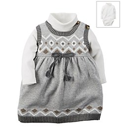Carter's® Baby Girls' 2-Piece Sweater Dress Set