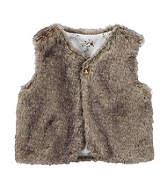 Carter's® Baby Girls' Faux Fur Vest