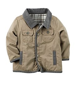 Carter's® Baby Boys Flannel-Lined Canvas Jacket®