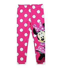 Disney® Girls' 2T-6X Minnie Mouse Polka Dot Leggings