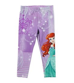 Disney® Girls' 2T-6X The Little Mermaid Princess Ariel's Castle Leggings