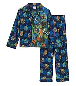Nickelodeon® Boys' 4-10 Teenage Mutant Ninja Turtle® Coatfront Pj Set