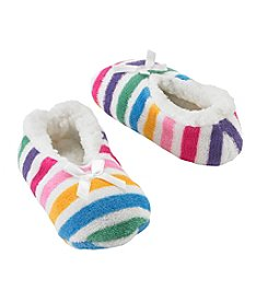 Miss Attitude Girls' Rainbow Ballet Baba Slipper