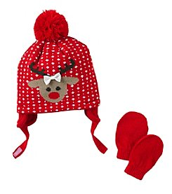 Mambo® Baby Reindeer Hat Set