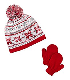 Mambo® Fair Isle Hat Set