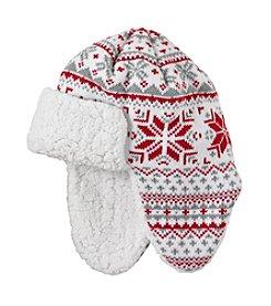Mambo® Fair Isle Ear Flap Hat