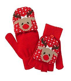 Mambo® Reindeer Flip Gloves