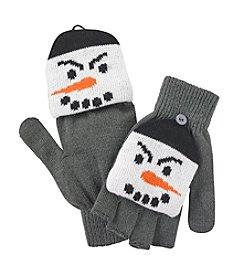 Mambo® Scary Snowman Flip Gloves
