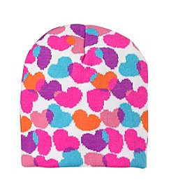 Mambo® Girls' Multi Heart Beanie