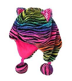 Mambo® Animal Print Peruvian Hat