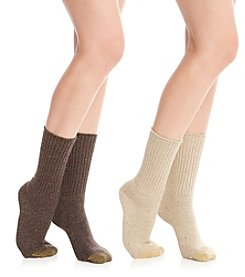 GOLD TOE® 2 Pack Boot Socks