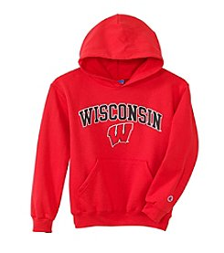 University of Wisconsin Girls' 7-16 Arch Over Logo Hoodie