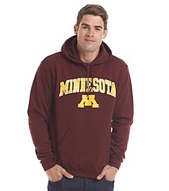 Champion Men's University of Minnesota Arch Over Mascot Hoodie