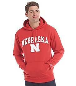 University of Nebraska Men's Name Over Mascot Hoodie