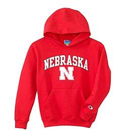 University of Nebraska Boys' 4-7 Arch Over Logo Hoodie