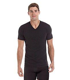 Calvin Klein Men's 2-Pack Short Sleeve V-Neck Tee