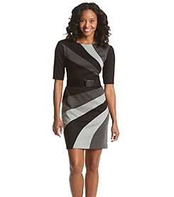 Connected® Petites' Colorblock Sheath Dress