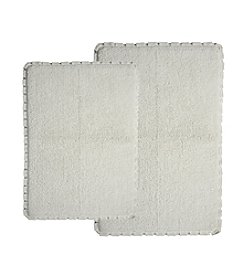 Chesapeake Verona Pleat Trim 2-pc. Bath Rug Set