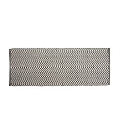 Chesapeake Grey Portland Chevron Runner Accent Rug