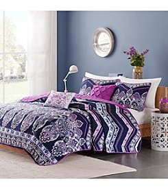 Intelligent Design Adley 5-pc. Coverlet Set