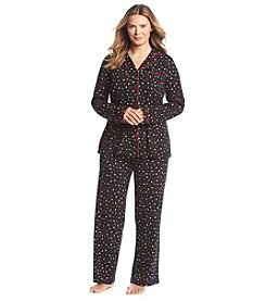 Intimate Essentials® Button Up Pajama Set
