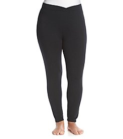 Cuddl Duds® Plus Size Softwear Stretch Leggings