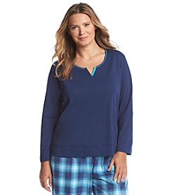 KN Karen Neuburger Long Sleeve Lounge Top