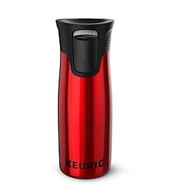 Keurig® Red Stainless Steel 14oz. Travel Mug