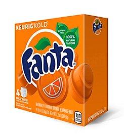 Keurig® Fanta® Orange 4-Pk. KOLD Pods