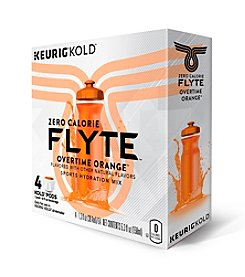 Keurig® Flyte™ Zero Calorie Overtime Orange Sports Drink 4-Pk. KOLD™ Pods