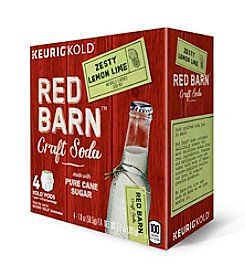 Keurig® Red Barn® Zesty Lemon Lime 4-Pk. KOLD™ Pods