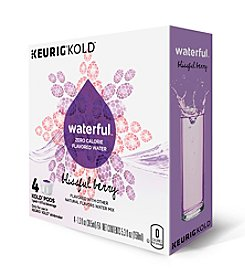 Keurig® Waterful™ Zero Calorie Blissful Berry Flavored Water 4-Pk. KOLD™ Pods