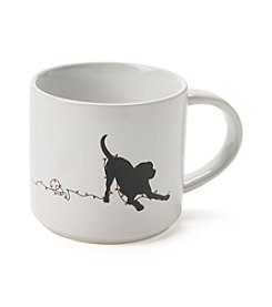 John Bartlett Pet Holiday Dog Lights Mug