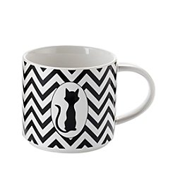 John Bartlett Pet Chevron Cat Mug