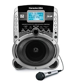 Karaoke USA Portable Karaoke MP3+G Player With Video Output