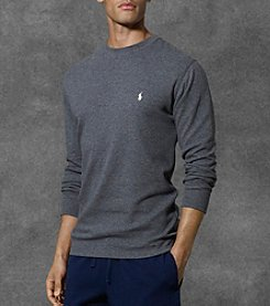 Polo Ralph Lauren® Men's Waffle Knit Crew Neck Shirt