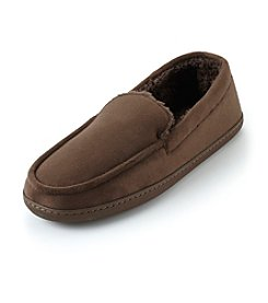The Sharper Image® Men's Slipper Moccasins