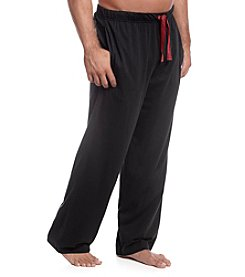 John Bartlett Statements Men's Sueded Solid Jersey Pants