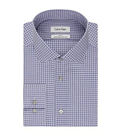 Calvin Klein Men's Check Slim Fit Dress Shirt